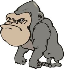 Gorilla Sticker DECAL car vehicle 200mm x 190mm  ANY FLAT SURFACE easy apply