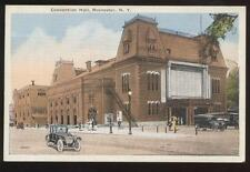 Postcard Rochester Ny Convention Hall View #1- 1910's