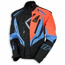 Giacca Moto Enduro Jacket Ufo 2018 Nera Blu Arancio  TG M