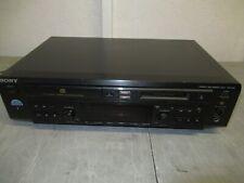 Sony Mxd-D40 Cd Recorder Compact Disc MiniDisc Deck Cd Player