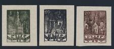 Polonia Oflag Ii-C Woldenberg Pow Camp Essays Set, VF Nh (Vedere in Basso)