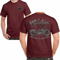Mens Biker T shirt Vintage Custom Motorcycles Bike Chopper Motorcycle Bobber 208