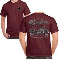 Mens Biker T shirt Vintage Custom Motorcycles Bike Chopper Motorcycle Bobber 208