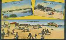 FLORIDA, TREASURE ISLAND, JOHNS PASS, BEACH, PASS A GRILLE LINEN PM1946 (FL-T)