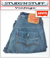 "VINTAGE LEVIS 514'S  SLIM STRAIGHT JEANS W 33"" L 30"" APROX SIZE UK 12 / 14 (T403"