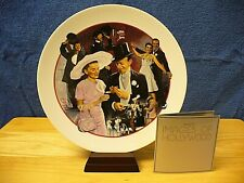 """Avon Images Of Hollywood Porcelain Plate - """"Easter Parade"""" w/stand - 1986 - Vin."""