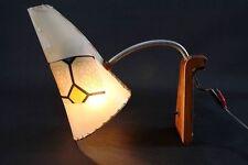 2x alte Wandlampe Lampe Kult Retro Design 50er 60er Jahre Tütenlampe Vintage