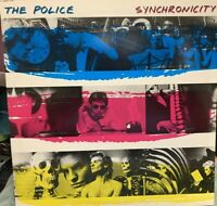 THE POLICE SYNCHRONOCITY LP A&M 1983 WITH INNER SP-3735 record club edition