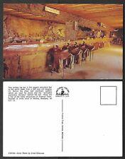 Old Montana Postcard - Frontier Town - Log Bar, Cocktail Lounge