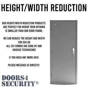 HEIGHT AND WIDTH REDUCTION FOR REDUCING DOOR SIZE