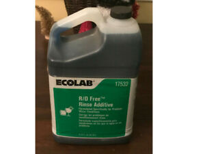 ECOLAB R/O FREE RINSE ADDICTIVE 6117532  sold in a unit of 2-5QTS