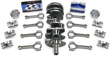 """CHEVY 350-383 SCAT STROKER KIT, 1PC RS, Forged(Flat)Pist., I-Beam 5.7"""" Rods"""