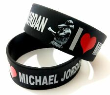 Celebrity Unisex Rubber Silicone Bracelet Love Fan Fashion Sport Cuff wristband