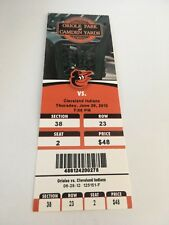 Johnny Damon Last Final HR #235 June 28 2012 6/28/12 Orioles Indians Full Ticket