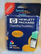HP Inkjet Print Cartridge 51625A Tri-Color - Deskjet & Deskwriter