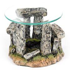 Duftlampe Steinkreis mit Glasschale Stonhenge Aromalape Duftöllampe