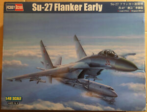 Su-27 Flanker Early Fighter 1:48 Hobby Boss