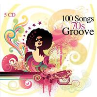 5 CD 100 Songs 70s Groove, Disco & Afro, Funk & Soul, Psychedelic, Soundtracks..