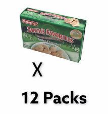 12x Salerno Santa's Favorite Anise Flavored  Holiday Cookie 10 Oz - 1 Dozen