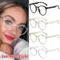 Blue Light Blocking Filter Glasses Anti-Eyestrain Decorative Computer Spectacles
