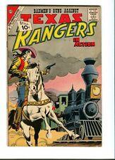 Texas Rangers In Action  31 . Charlton 1961  -  FN - minus