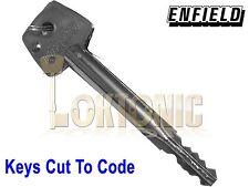 Enfield D613 Garage Door Lock Bolts Extra Cut Keys To Code Long Or Short