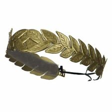 Laurel Leaf Gold Wreath Headband Roman Greek Toga Party Costume Accessory