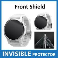 Garmin Fenix 5S Protector De Pantalla Invisible Escudo-DELANTERO Grado Militar
