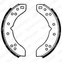 Delphi Rear Brake Shoe Set LS1032 - BRAND NEW - GENUINE - 5 YEAR WARRANTY