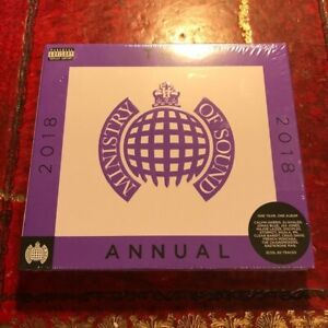 The Annual 2018 (3 CD Set) Ministry Of Sound (Dance Mixes) Calvin Harris etc