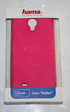 HAMA  RUBBER CASE FOR SAMSUNG GALAXY S4 - NEW - PINK