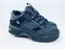 Heelys Torch #9116 Black Gray Roller Wheel Shoes for Kids/Adults US Mens Size 7