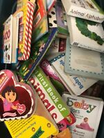 20 Board Books Mixed Random Lot Toddler Preschool Daycare Homeschool Education