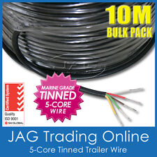 10M x 5-CORE MARINE GRADE TINNED WIRE - AUTOMOTIVE/TRAILER/BOAT/ELECTRICAL CABLE