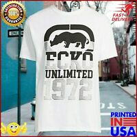 Ecko Unltd. Rhino Authentic Short Sleeve White T Shirt