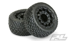 "Pro-Line Road Rage 2.8"" Street Tires Black 17mm Wheels (2) : Stampede 4x4 F/R"