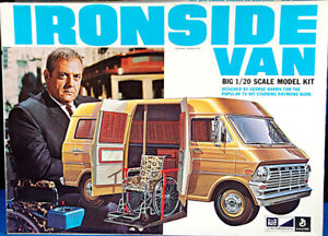 """MPC """"Ironsides"""" 1972 Ford Van, 1/20 Scale"""