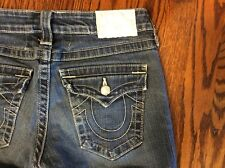 True Religion Jeans Becky Bootcut Womens Size 27 Made in USA