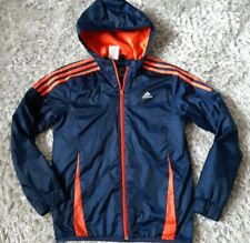 Adidas Boys Padded Hooded Jacket Size 11-12 Years Height 152Cm