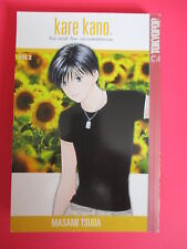 Kare Kano His and Her Circumstances Vol. 2 Manga Graphic Novel Book in English