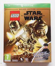 LEGO STAR WARS EL DESPERTAR DE LA FUERZA DELUXE EDITION - XBOX ONE PAL ESP NUEVO