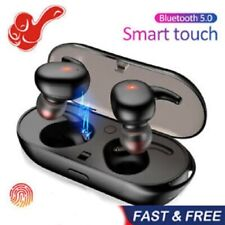Bluetooth 5.0 Wireless Earphones TWS Headphones Mini In-Ear Buds For IOS Android