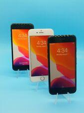 3 Units Apple iPhone 7 - 256GB Unlocked A1660 (CDMA + GSM) Silver Black Grade A