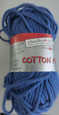 (49,80 €/kg): 700 Gramm  Schoeller+Stahl Cotton Mix, Fb. 016 blau #1649
