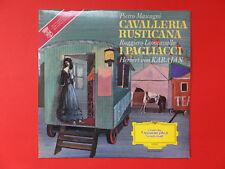CAVALLERIA RUSTICANA/I PAGLIACCI  Bergonzi Cosotto LP ca 1970 neuwertig<<<<<<<<