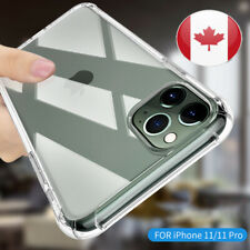 For iPhone 11 Pro Max XR 7 8 Plus Shockproof soft Silicone Protective Case Cover