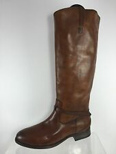 Frye Womens Brown Leather Knee Boots 9 B