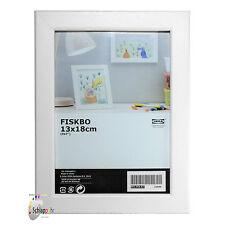 """IKEA """"FISKBO"""" Bilderrahmen / Fotorahmen-Weiß / Format 13 x 18 cm ./ Neu / OVP"""
