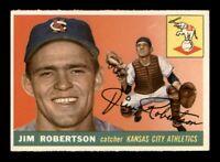 1955 Topps Set Break # 177 Jim Robertson EX *OBGcards*