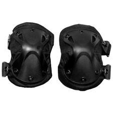 Esercito Tattica Gomito Protezioni Sicurezza Protezione Pastiglie Airsoft Nera P